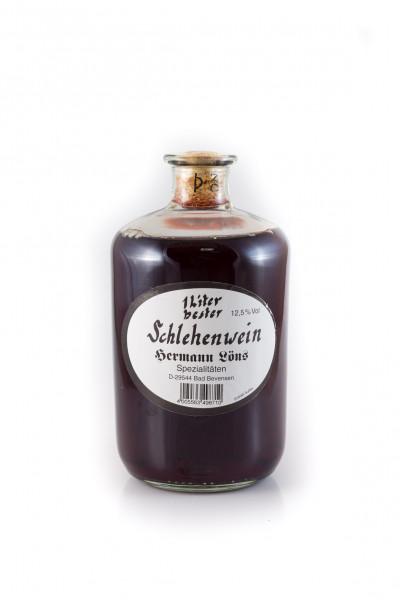 Premium Schlehenwein Schlehen 1