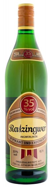 Ratzingwer Ingwerlikör - 0,7L 35% vol