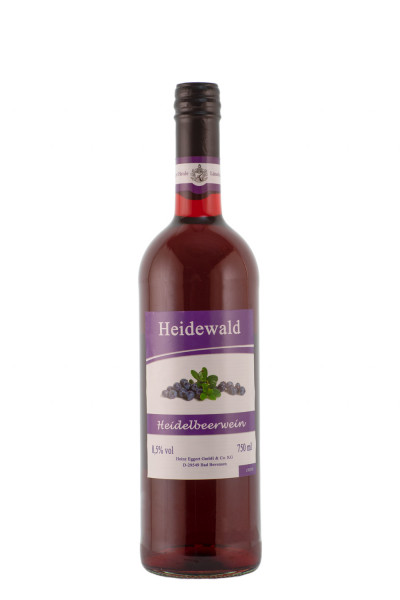Heidewald Heidelbeerwein - 0,75L 8,5% vol